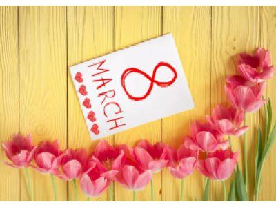 C 8 марта милые дамы